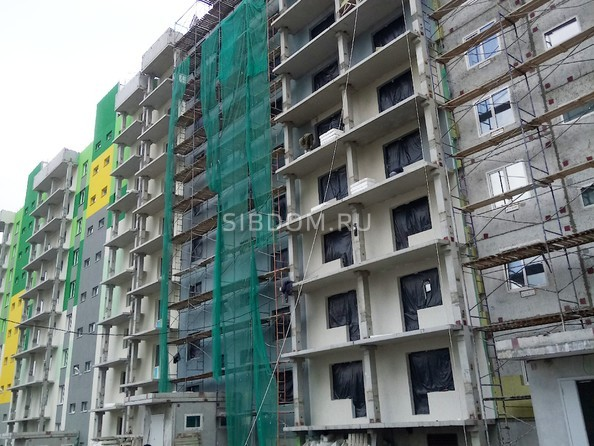 Фото Жилой комплекс БЕРЁЗОВАЯ РОЩА, 70е, 1 очередь, Ход строительства май 2019