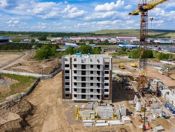 Фото Жилой комплекс Светлогорский пер, 1 дом, 1 стр, Ход строительства 11 июня 2019