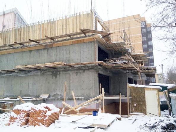 Фото Жилой комплекс НА НЕВСКОГО, 2 оч, Ход строительства январь 2019