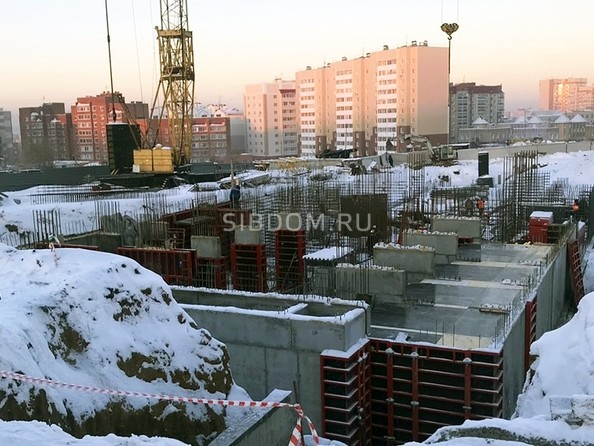 Ход строительства ноябрь 2018