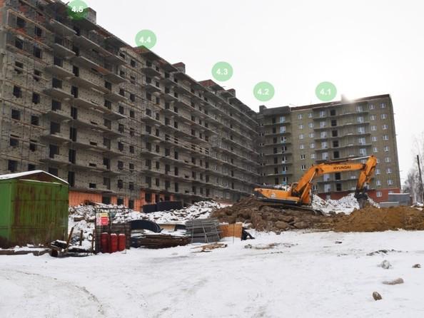 Фото Жилой комплекс ЭВОЛЮЦИЯ, 4.3 б/с , Ход строительства январь 2019