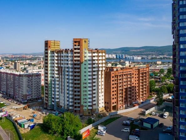 Фото Копылова, 5 дом, 1 оч, Ход строительства 9 июня 2019