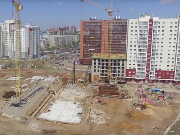 Фото Жилой комплекс НИЖНЯЯ ЛИСИХА-3, б/с 11-13, Ход строительства Май 2017