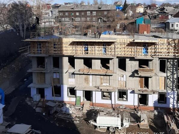 Ход строительства 2 апреля 2020