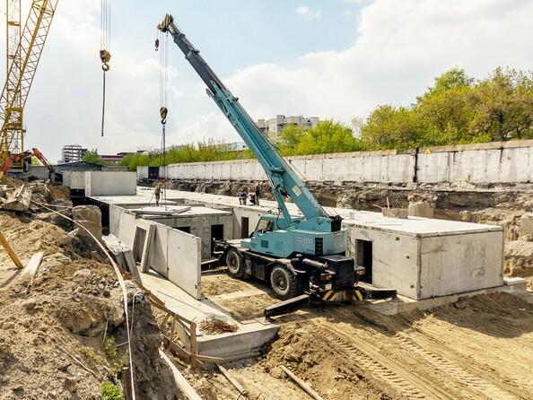 Фото МОТОР, корпус 1, Ход строительства май 2019