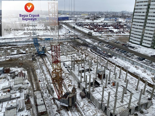 Ход строительства апрель 2021