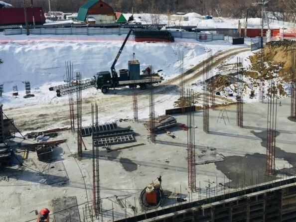 Фото Жилой комплекс БИРЮЗОВАЯ ЖЕМЧУЖИНА, Ход строительства март 2019