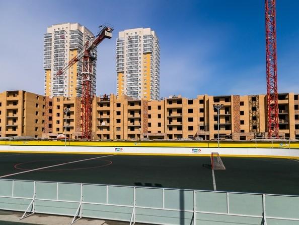 Фото Жилой комплекс ДИНАСТИЯ , 1 этап, Ход строительства 6 апреля 2018