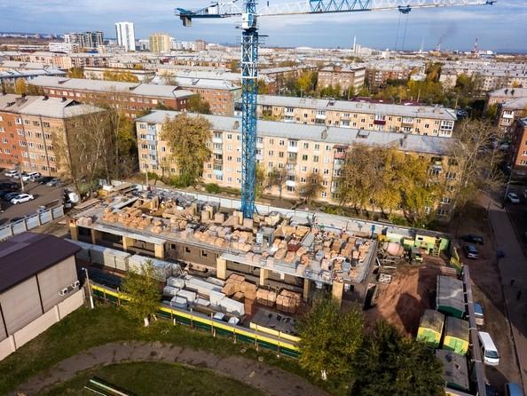 Фото Жилой комплекс ХОРОШЕЕ МЕСТО, Ход строительства 9 октября 2018