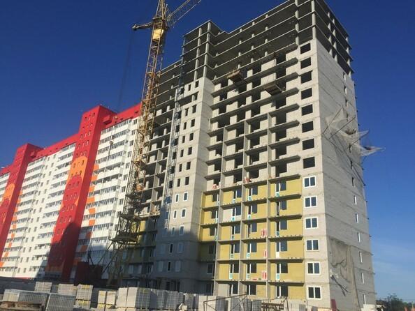 Фото Жилой комплекс МАТРЕШКИН ДВОР 95/4, дом 1, 3 б/с, Ход строительства июнь 2019