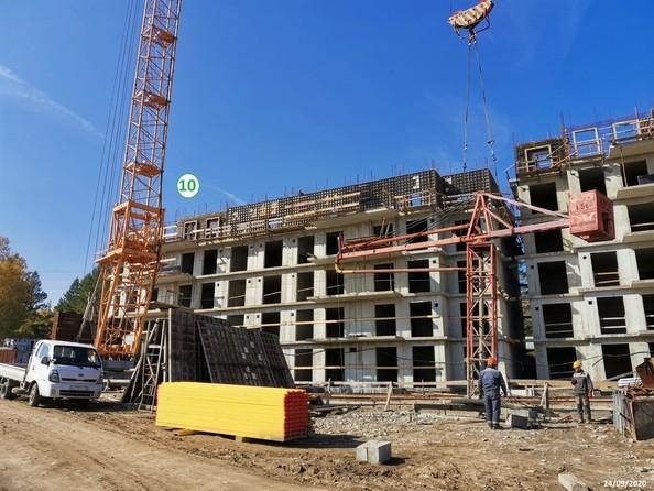 Ход строительства 24 сентября 2020