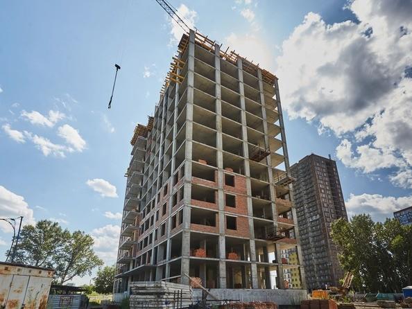 Фото Жилой комплекс ЯСНЫЙ БЕРЕГ, дом 12, Ход строительства август 2019