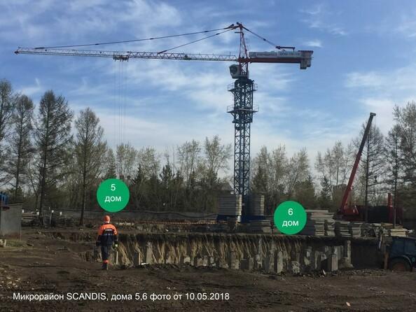 Фото Жилой комплекс SCANDIS (Скандис), дом 5, Ход строительства 10 мая 2018