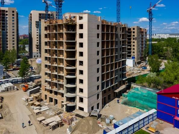 Фото Жилой комплекс SCANDIS (Скандис), дом 7, Ход строительства 9 июня 2019