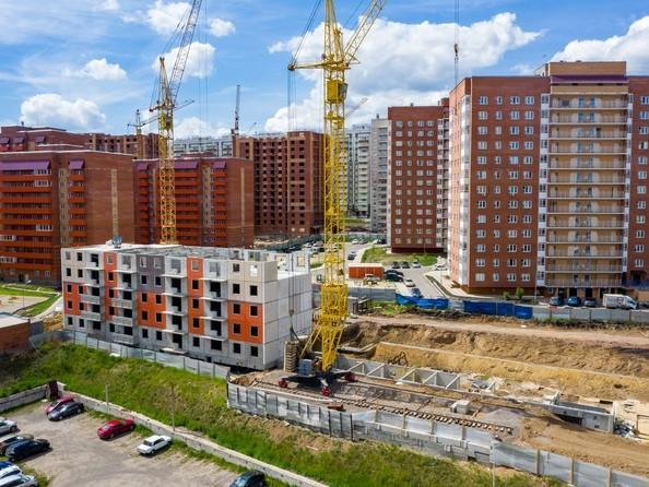 Фото Жилой комплекс СНЕГИРИ, дом 7, Ход строительства 9 июня 2019