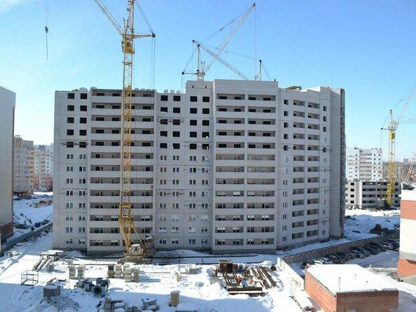 Фото Жилой комплекс КРАСНООБСКИЙ, дом 230, Ход строительства март 2019