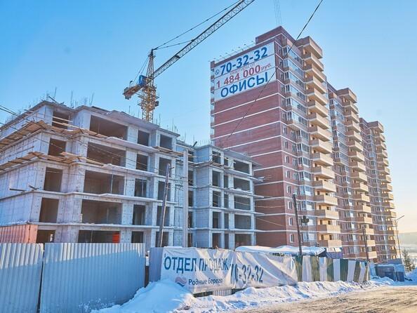 Фото Жилой комплекс РОДНОЙ БЕРЕГ, б/с 4, Ход строительства 9 января 2018