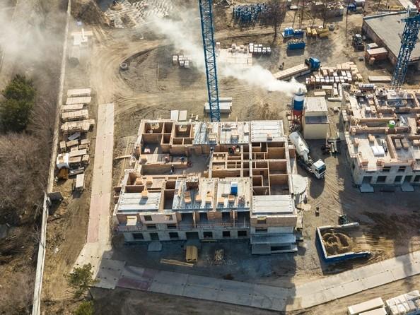 Фото Микрорайон SCANDIS (Скандис), дом 4, Ход строительства 24 апреля 2018