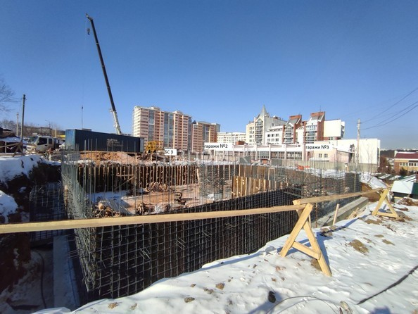 Ход строительства 5 марта 2021
