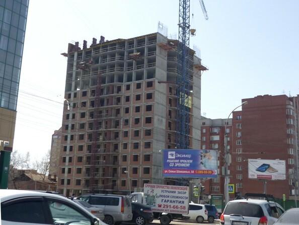 Фото Жилой комплекс Семьи Шамшиных, 55, Ход строительства 30 апреля 2017