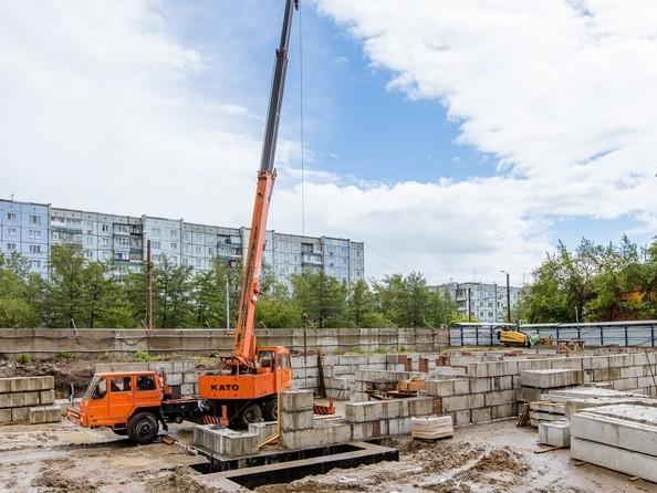 Ход строительства 1 июня 2020