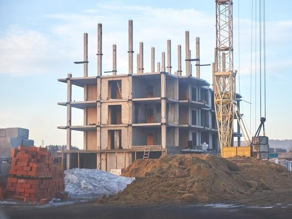 Фото Жилой комплекс СИНЕРГИЯ, 1 этап, 2 б/с, Ход строительства 28 марта 2018