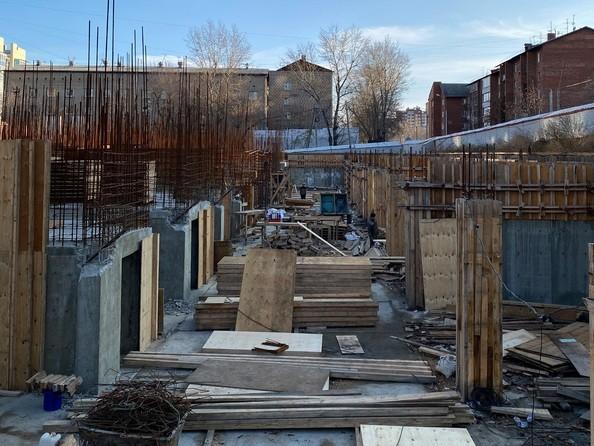 Ход строительства 1 ноября 2020