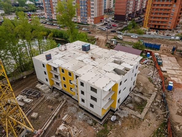 Ход строительства 30 мая 2021