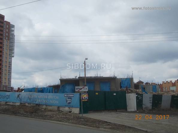 Фото Жилой комплекс СТРИЖИ, б/с НЕБО, Ход строительства 22 апреля 2017