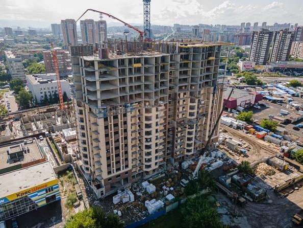 Ход строительства 1 августа 2021
