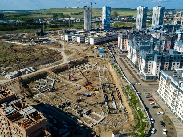 Фото Жилой комплекс ПРЕОБРАЖЕНСКИЙ, дом 9, Ход строительства 14 июня 2019