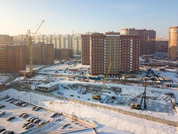 Фото Жилой комплекс СНЕГИРИ, дом 7, Ход строительства 11 декабря 2018
