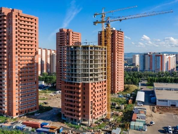 Фото КВАДРО, дом 1, Ход строительства 27 августа 2019