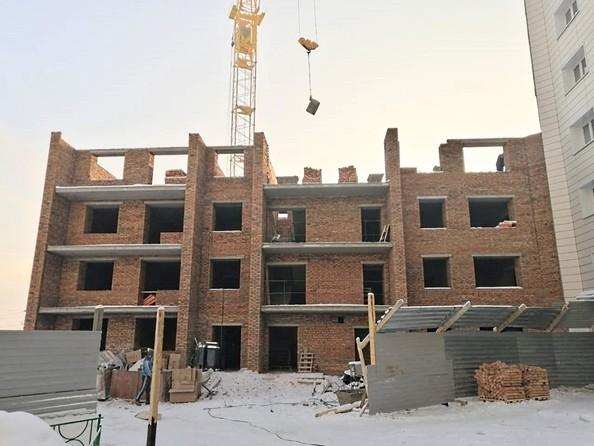 Ход строительства 20 января 2021