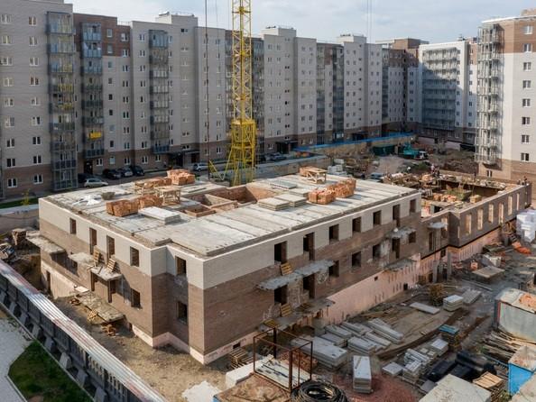 Ход строительства 25 августа 2021