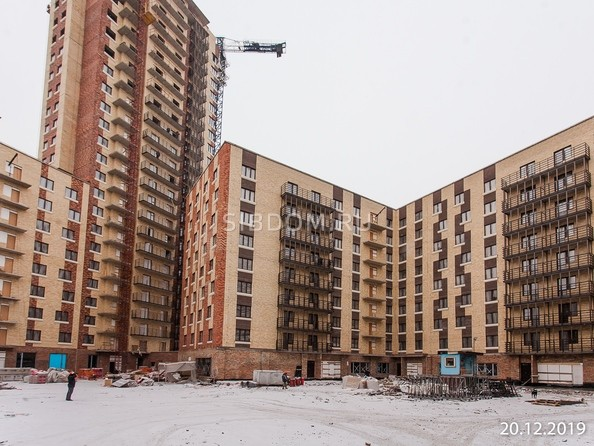 Ход строительства 21 декабря 2019