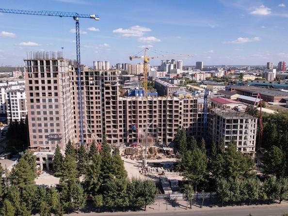Ход строительства 7 сентября 2021