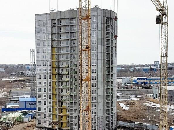 Фото Жилой комплекс ВЕРХНИЙ БУЛЬВАР, дом 8, Ход строительства апрель 2019