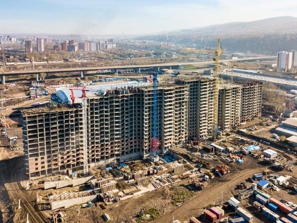 Фото Жилой комплекс ТИХИЕ ЗОРИ, дом 1 (Красстрой), Ход строительства 16 октября 2017