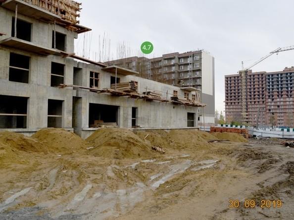 Фото ЭВОЛЮЦИЯ, 2 оч, б/с 4-6,4-7, Ход строительства 30 сентября 2019