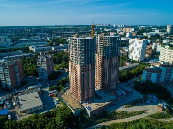 Фото Жилой комплекс ЭРМИТАЖ, Ход строительства август 2019