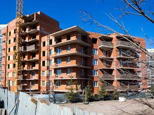 Фото Жилой комплекс БЕЗОБЛАЧНЫЙ, дом 2, Ход строительства 14 апреля 2019