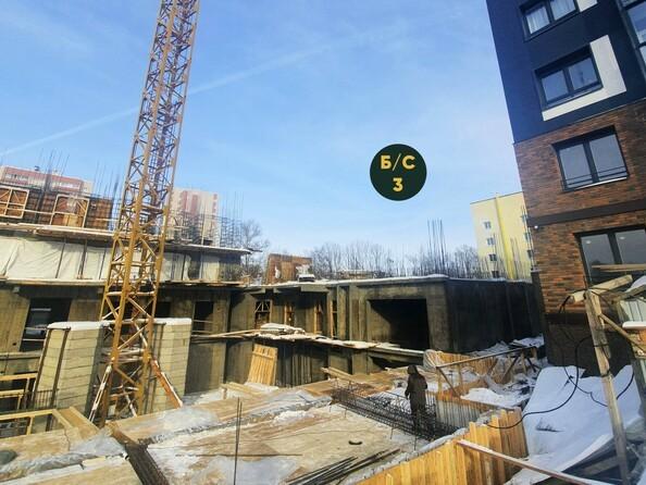 Ход строительства 3 февраля 2021