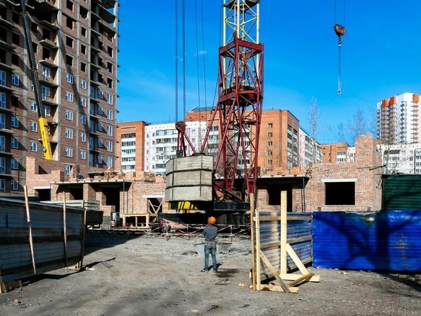 Фото Жилой комплекс Базарная, дом 2, Ход строительства 7 апреля 2019