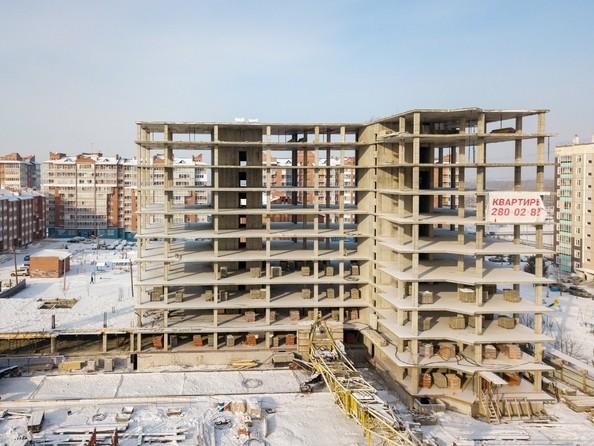 Ход строительства 8 февраля 2019