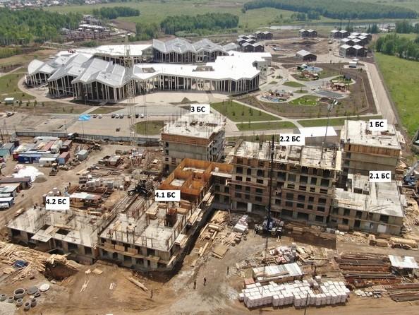 Ход строительства 5 июня 2020