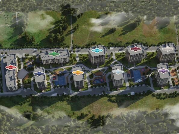 Картинки Жилой комплекс ЮЖНЫЙ, дом «Рубиновый»
