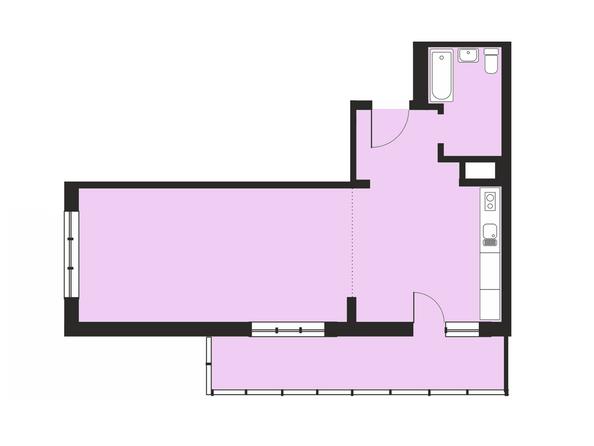 2-комнатная 60,36; 60,74; 61,4 кв.м