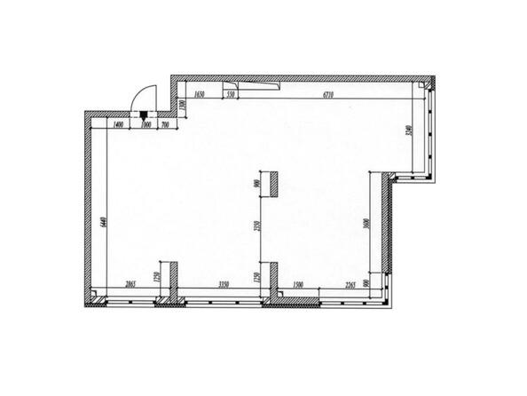 Планировка 3-комн 80 - 80,6 м²