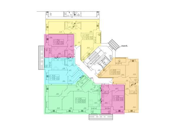 2 подъезд, типовой этаж